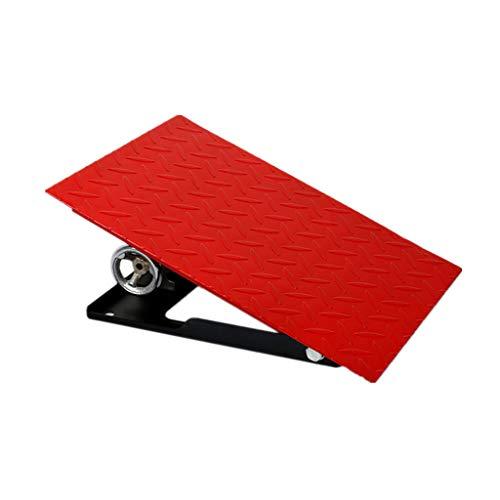 Tragbare Rampe (Q-kerb ramps Heben Slope Pad, Fahrzeug Rampen Metall Tragbare Bordsteinkanten Rampen Auto LKW Fahrrad Schritt Schwelle Pad, 12-20 cm (größe : 30 * 40 * 20CM))