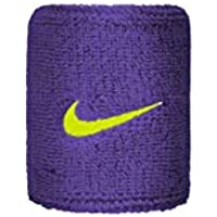Nike Unisex - Adulto Swoosh, Unisex- Adulto, N.000.1565.505.OS, Court Purple/Volt, Taglia Unica