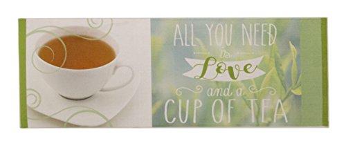 Aminata Home – Teppichläufer Grün Beige Tee Tea á 180x62 cm | Teppich für Flur Küche Wohnzimmer etc | Polyamid Kurzfloor rutschhemmend waschbar | Küchenläufer Flurläufer Küchenteppich