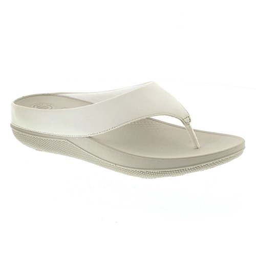 Superlight Ringer Toe Post - Urban White Leather St盲dtischen Wei