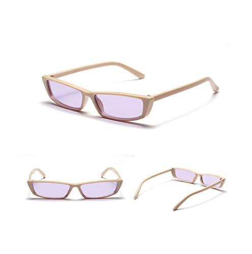 WYJW Europa und die Vereinigten Staaten suGläser Street Shot konkave Gläser Netzwerk rot Verschluss Segel weiß Retro-Box Sonnenbrille