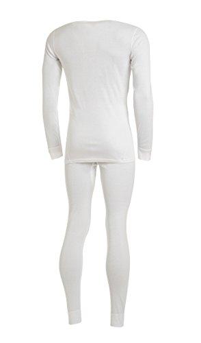 Medico Herren Sportunterwäsche Garnitur, Underwear white