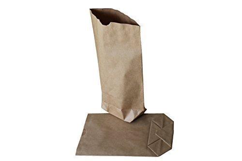 Papiertüten/Papierbeutel - Lote de 100 bolsas de papel sin asa (papel kraft, 28 x 45 cm, para carga de 5 kg), color marrón