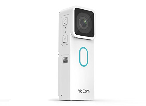 MOFILY YC002 YoCam Standard Edition Multifunktions Action Life Cam (Video 2.7K / 1080P // Foto 8MP) weiß