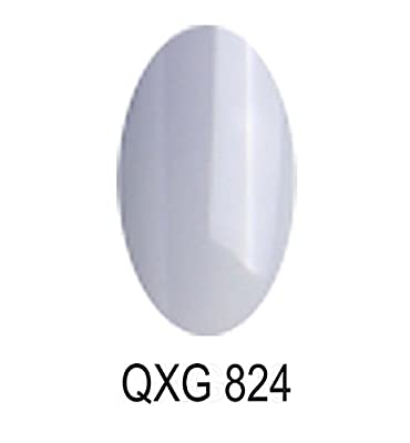 Bluesky Limited Edition UV/LED Soak Off Gel Nail Polish Number QXG 824, Light Grey 10 ml
