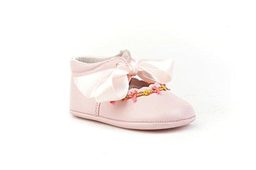 ANGELITOS , Baby Mädchen Krabbelschuhe & Puschen Rosa