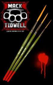 3 Pinstriping Pinsel Andrew Mack Serie Mack Tidwell - Mack Serie