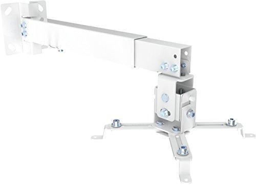 SCHWAIGER -9468- Beamer-Deckenhalterung / Projektor Wand-Halterung / universal-Halterung für Video-Projektor/ drehbar und schwenkbar / hohe mechanische Belastbarkeit / max. Trag-Kraft von 20 kg