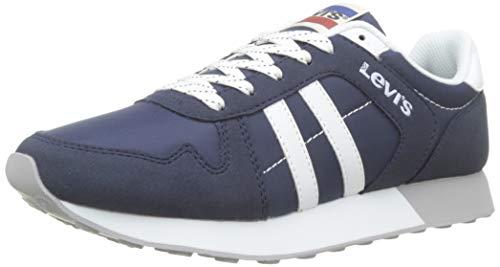Levis Footwear and Accessories Webb, Zapatillas para Hombre, Azul (Navy Blue 17), 39 EU