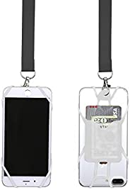Gear Beast Universal Pocket Web Cell Phone Lanyard Compatible with iPhone, Galaxy & Most Smartphones Inclu