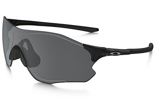 Oakley Sonnenbrille Evzero Path, Gafas de Sol para Hombre, Polished Black, 1