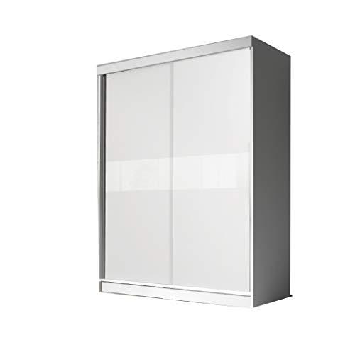 mb-moebel Moderner und funktionaler SchiebetürenSchrank Kleiderschrank Schrank Garderobe...