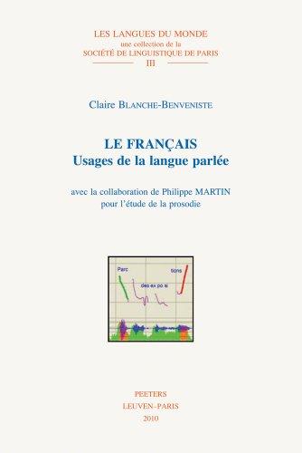 Le Franais : Usages de la langue parle