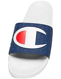 Champion Slide Multi-Lido, Tongs Homme, Blanc