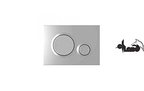 Betätigungsplatte DON Farbe weiss Vigour 2 Mengen