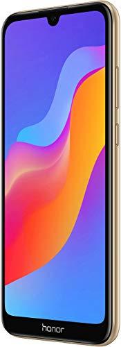 Honor 8A - Smartphone Libre (Pantalla táctil HD + LCD de 15,47 cm (6,09 Pulgadas), Memoria Interna de 32 GB, cámara Principal de 13 MP, Android 9), Color Dorado