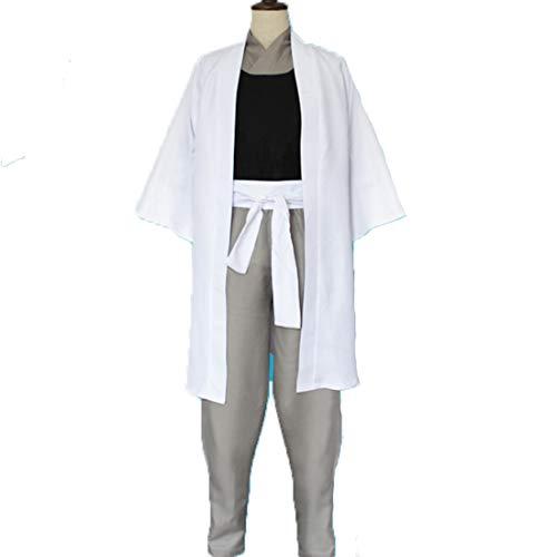 YKJ Rollenspiele Cartoon Anime Mann Frau Halloween Rollenspiele Japanisches Samurai Kostüm,XL-Suit