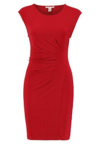 Anna Field Etuikleid für Damen in Rot, 38