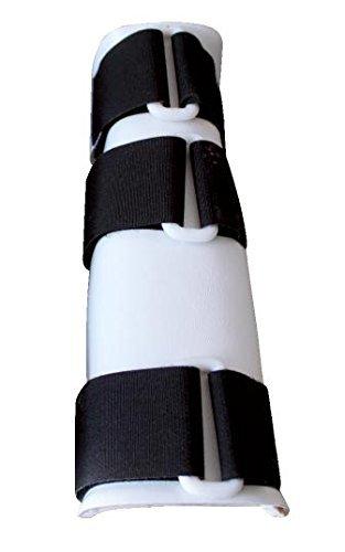 Horizont 30763 Beinschiene für Kälber ABS-Kunststoff, 22 cm lang - Gewichte Kälber Für