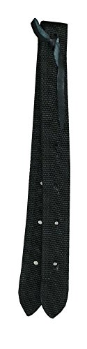 Amesbichler Nylon Off Billet, schwarz, 3,5 cm breit (Western-gurt Nylon)