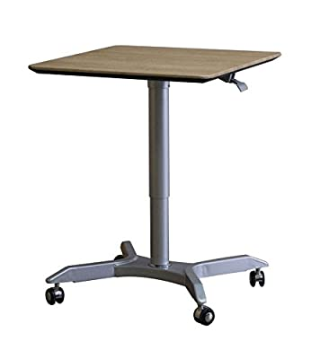 Height Adjustable Laptop Stand Desk with Rolling Casters – Mobile Occasional Table for Multiple Uses Beside Couch – Adjustable Height Coffee Table for Sofa Side - inexpensive UK light store.