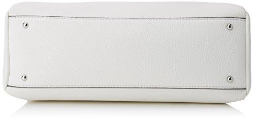 Guess Hobo, Borsa a Tracolla Donna, 14.5x24x36.5 cm (W x H x L) Bianco