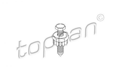 Preisvergleich Produktbild TOPRAN 100 663 Spannschraube,  Generatorhalter