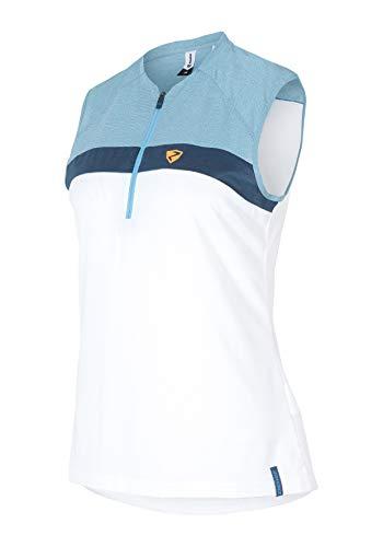 Ziener Damen CONEA lady (sleeveless tricot) Fahrradtrikot/Radtrikot - atmungsaktiv|schnelltrocknend|elastisch|funktionell -