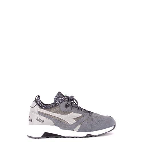 Diadora, Uomo, N9000 Camo Socks, Suede / Mesh, Sneakers, Grigio, 42.5 EU