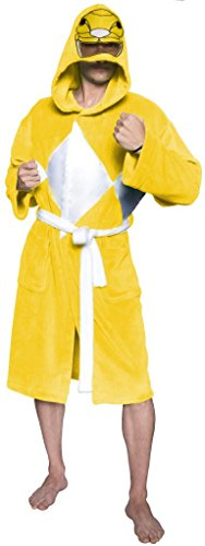 Power Ranger Yellow Kostüm - Power Rangers Yellow Ranger Adult Costume Robe