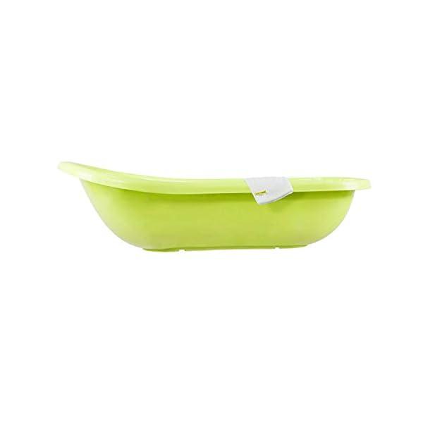 Bathtub XXL 100 cm Hippo Green + Wash Mitt