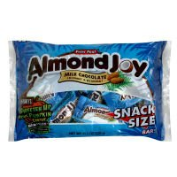 HERSHEY's ALMOND JOY Milk Chocolate Coconut & Almonds, Snack Size Bars / 320g (Almond Joy Chocolate Milk)