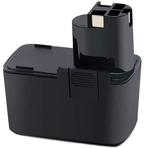 POWERAXIS für Bosch Akku 9,6V 3,0Ah NiMH Ersatzakku für Bosch BAT001 2607335035 2607335037, Bosch PSR 9.6 VE, PSB 9.6VES-2, PDR 9.6 VE, PBM 9.6 VSP-2, GSR 9.6VES-2, GSB 9.6 VES-2 -