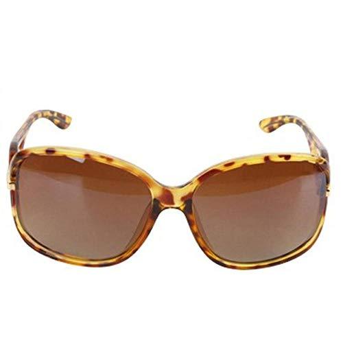 CYCY New Damen Vollformat UV-Schutz Farbverlauf Sonnenbrille Frauen 20311 edel schwarz, Bernstein