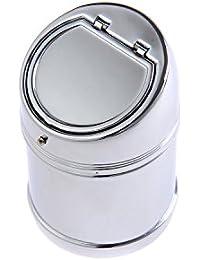 The Khan Outdoor & Lifestyle Company Quantum Abacus Stylischer Windaschenbecher aus Zinklegierung, poliertes Metall, Mod. 635AD (DE)