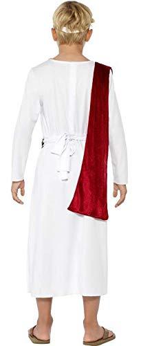 Smiffys Costume Antico Romano, bianco, con Veste, Cinta e Copricapo 2 spesavip