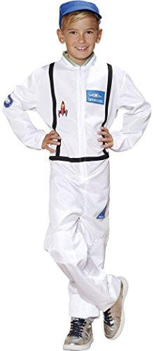 Golden Lutz - Kinder Jungen Kostüm Astronautenkostüm | Astronaut | Kinderkostüm (Größe S, ca. 4-6 Jahre) (Kostüm Kleinkind Astronaut)