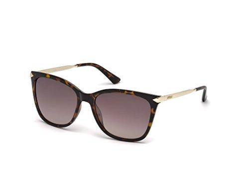 Guess Unisex-Erwachsene GU7483 52G 56 Sonnenbrille, Braun (Avana Scura/Marrone Specchiato),
