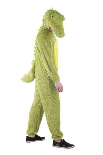 dil Kostüm für Damen und Herren, Tierkostüm | Gr. S, M, L, XL, XXL,XXXL, XXXXL, Größe:XXL, Tiere:Krokodil (Krokodil-kostüm)