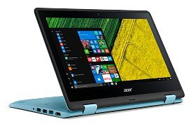 Acer Spin SP111-31-P934 (NX.GL5SI.003) (Pentium Quad Core N4200 CPU/ 4GB DDR3 Ram/ 500GB HDD/ Win10 /MS Office HS / 360″ Fold/ Touch Screen) With 1 Yrs Warranty By Acer India Service Center. 31nEUgfQcwL