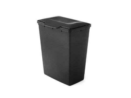 amazon cubo negro con tapa 90litros precio