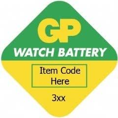 GP Batteries gp371-a1Piles bouton oxyde d'argent Piles de 1