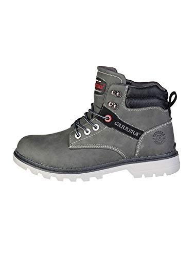 Carrera Jeans Herren NEBRASKA_CAM721025 Grau Hohe Stiefeletten 44 EU