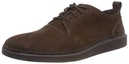 Clarks Hale Lace, Zapatos Cordones Derby Hombre, Marrón