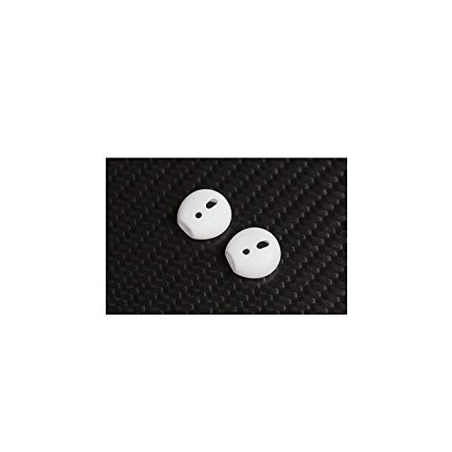 KRS EP3 - Aufsatz In-Ear Gummi Silikon Ohrpolster für Ear-pods Schutz Headset, Silikon-Ohrpolster Buds Tipps in-Ear Headset in-Ear-Ohrstöpsel Ohrstöpsel [Weichem Silikon] [Anti-Rutsch] () Silikon-schutz