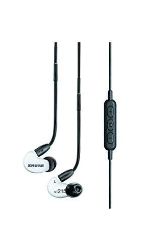 Shure SE215SPE-W-BT1-EFS Bluetooth In-Ear Kopfhörer mit passiver Geräuschunterdrückung für iOS & Android - Premium Ohrhörer mit warmem & detailreichem Klang - Special Edition: Weiß - 2
