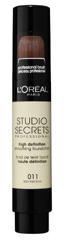 L'Oréal Paris Studio Secrets Foundation-Pinsel, 011 Rosy Porcelain, 17 ml