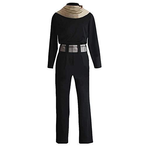 Männliche Toga Kostüm - Boku No Hero Mein Held Academia Eraserhead Aizawa Cosplay Uniform Kostüm Halloween Ledermantel Outfit Schwarze Jacke,XXXL