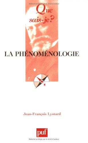 la-phnomnologie