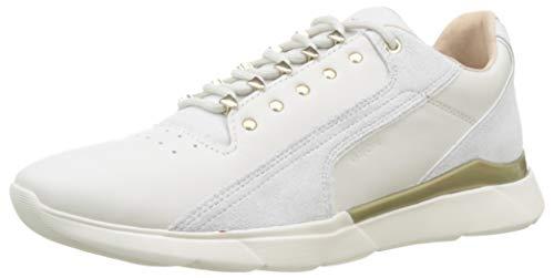 Geox Damen D Hiver E Sneaker, Elfenbein (Off White C1002), 42 EU